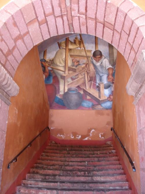 Mural, Escuela de Bellas Artes, San Miguel de Allende; Photo:KFawcett
