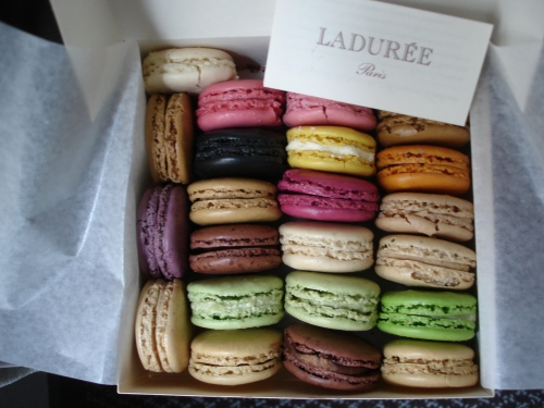 Macarons; Photo:DFawcett