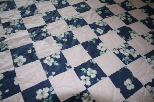 Dogwood quilt; Photo:KFawcett