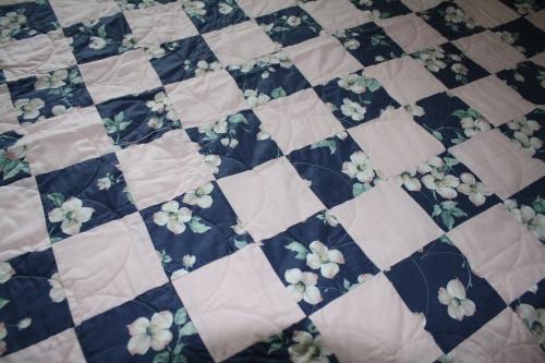Dogwood quilt; Photo:KFawcett