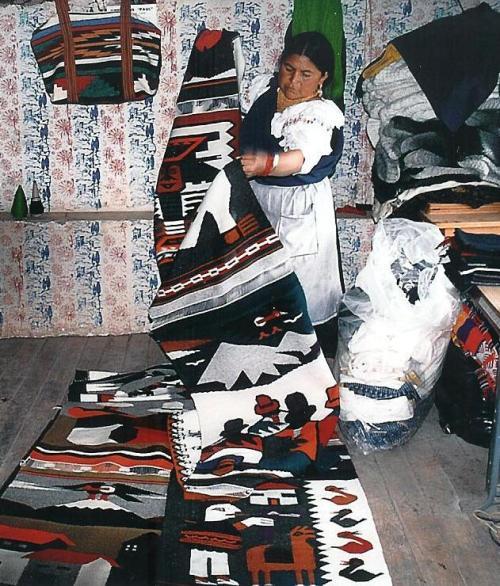 Textiles, Otavalo, Ecuador; Photo:MFawcett