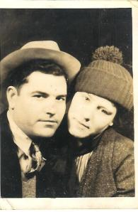 Dad and Mom in the 30s