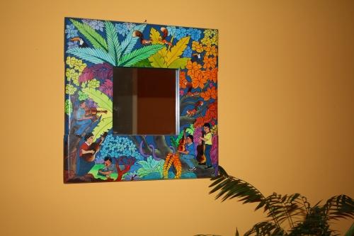 Bolivian mirror; Photo:KFawcett