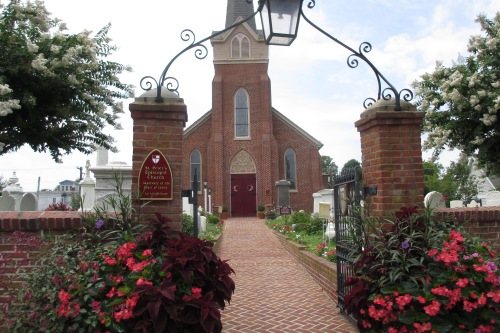 St. Peter's Church, Lewes, Delaware; Photo:KFawcett