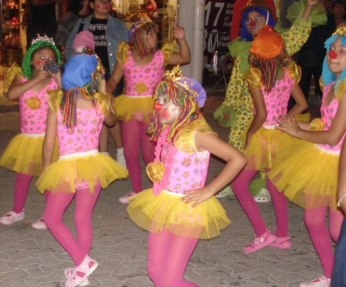 Ninos parade, Playa del Carmen; Photo:KFawcett