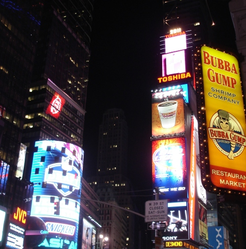 Times Square; Photo:KFawcett