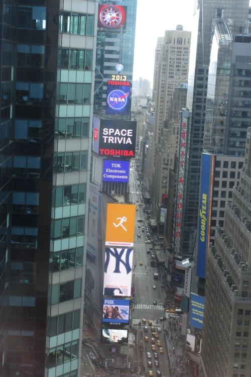 Times Square, NYC; Photo:KFawcett