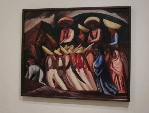 "Orozco' ""Zapatistas"" at the MOMA; Photo:KFawcett"