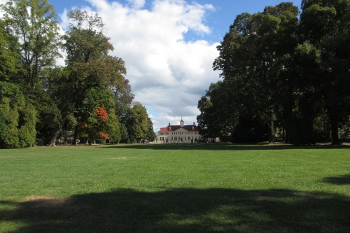 Mt. Vernon, Washington's home on the Potomac; Photo:KFawcett