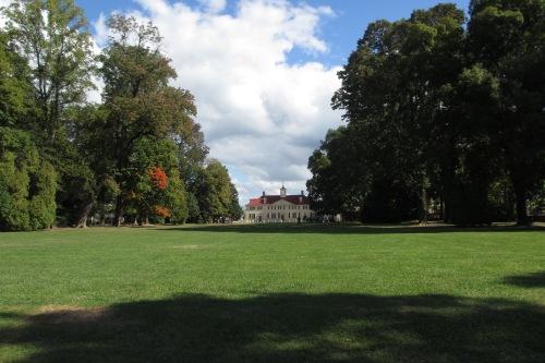 Mt. Vernon, Washington's home on the Potomac; Photo:KFawcett