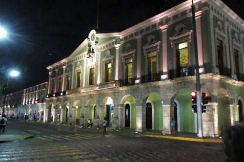 Palacio de Gobierno, Merida, Yucatan, Mexico; Photo:KFawcett