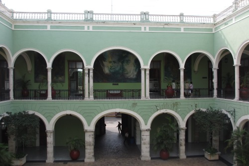 Palacio de Gobierno, Merida, Yucatan, Mexico; Photo:KFawcett