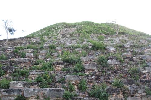 Kinich Kakmo pyramid, Izamal, Yucatan, Mexico; Photo:KFawcett