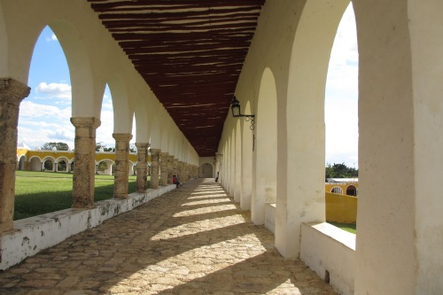 Ex-Convento in Izamal, Yucatan, Mexico; Photo:KFawcett