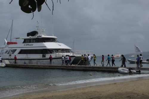 At Cooper Island, BVI; Photo:KFawcett