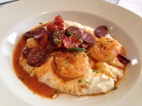 Shrimp and grits, Bluecoast, Bethany Beach, Delaware; Photo:KFawcett