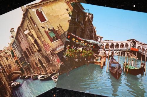 Postcards, Venice, 1972