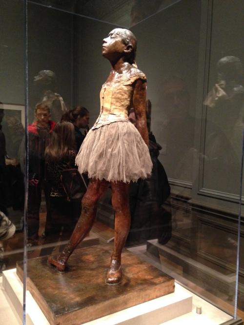 Degas's Little Dancer Aged Fourteen at the National Gallery of Art in DC; Photo:KFawcett