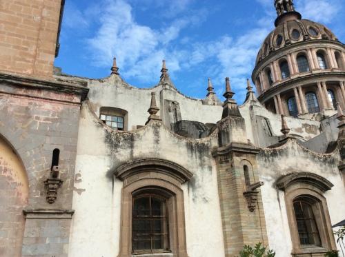 Templo de la Compania de Jesus, Guanajuato, Mexico; Photo:KFawcett