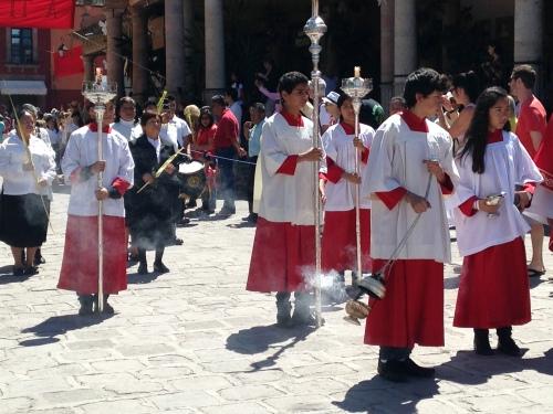 Palm Sunday Procession, San Miguel de Allende, GTO, Mexico; Photo:KFawcett