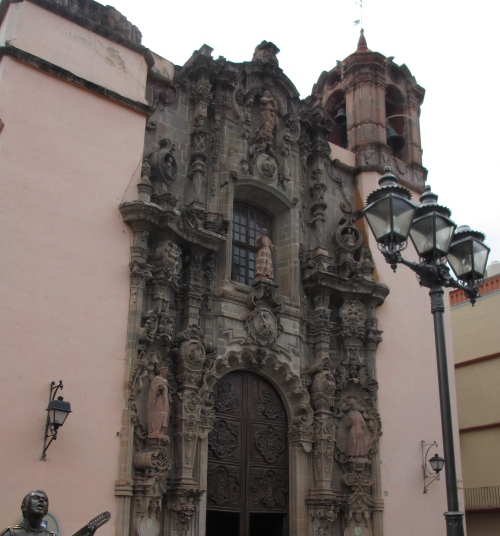 Templo de San Diego, Guanajuato, Guanajuato, Mexico; Photo: KFawcett
