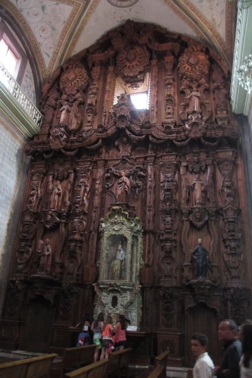 Parish Church, Dolores Hidalgo, GTO, Mexico; Photo:KFawcett