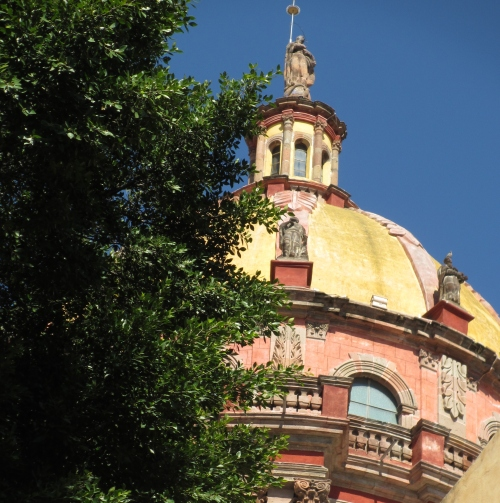 Templo de la Immaculada Concepcion, San Miguel de Allende, GTO, Mexico; Photo:KFawcett