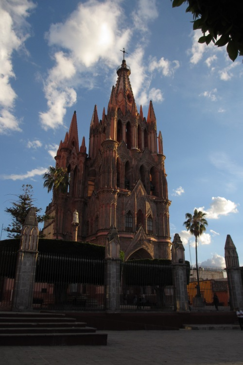 The Parroquia, San Miguel de Allende, GTO, Mexico; Photo:KFawcett