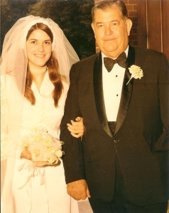 My wedding...Dad's first time in a tux!