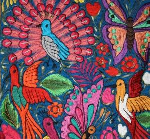 Birds, Mayan Textile; Photo:KFawcett