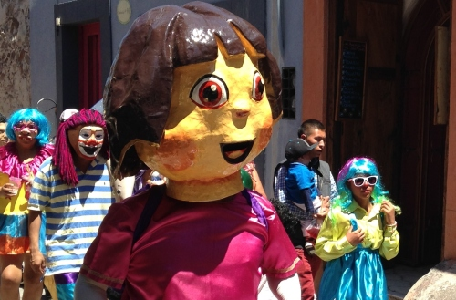 Parade, San Miguel de Allende; Photo:KFawcett