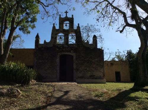 San Isidro, Hacienda Chichen, Yucatan, Mexico; Photo:KFawcett