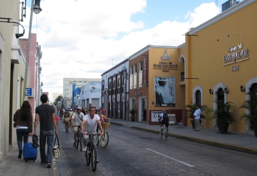 Bici-Ruta, Merida, Yucatan; Photo:KFawcett