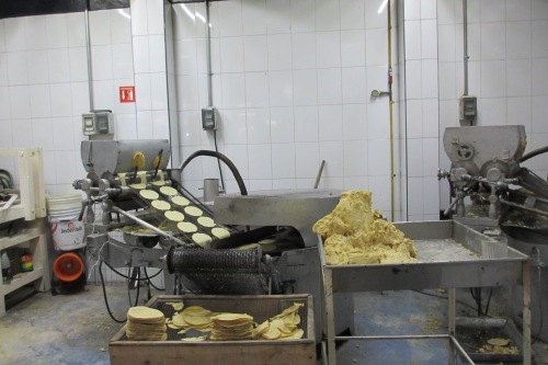 Tortilla Machine; Photo: KFawcett