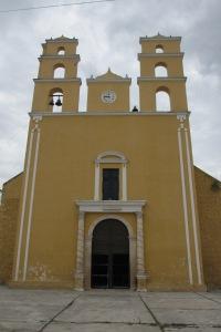 Parroquia de Nuestra Senora de la Natividad, Acanceh, Yucatan; Photo:KFawcett
