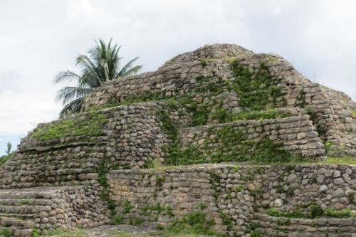 Maya pyramid, Acanceh, Yucatan; Photo: KFawcett