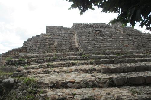 Palacio de los Estucos, Acanceh, Yucatan; Photo:KFawcett