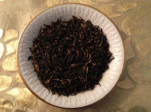 Golden Monkey tea leaves; Photo:KFawcett