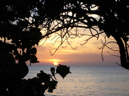 Dorado Beach sunset, Puerto Rico; Photo:DFawcett
